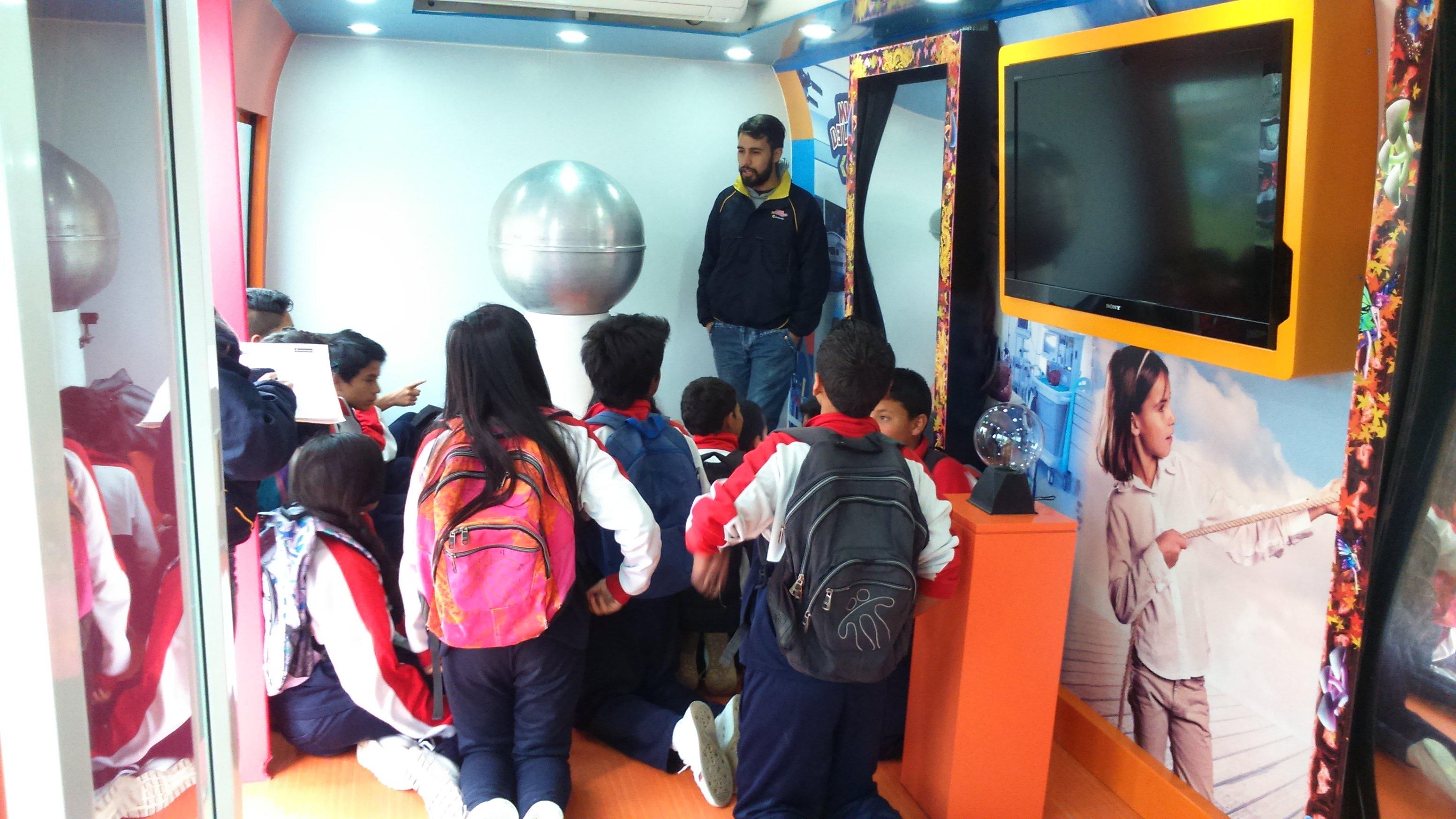 Unidad Móvil Museo de los Niños Colsubsidio