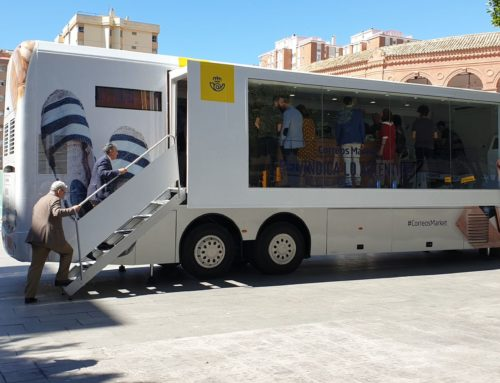 Málaga, tercera parada de Correos Market