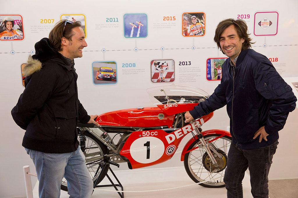 Gelete y Pablo, hijos de Ángel Nieto en Repsol Racing Tour