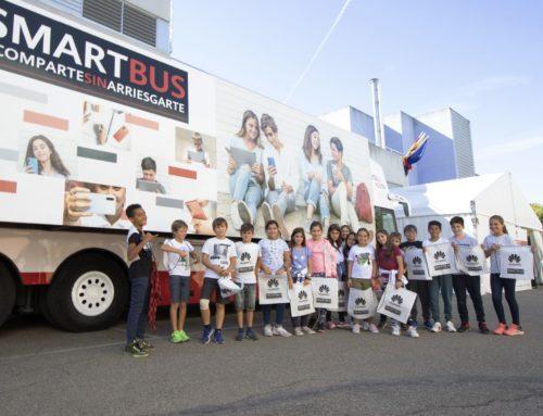 Vuelve el Smartbus de Huawei para fomentar la educación y responsabilidad digital entre el alumnado