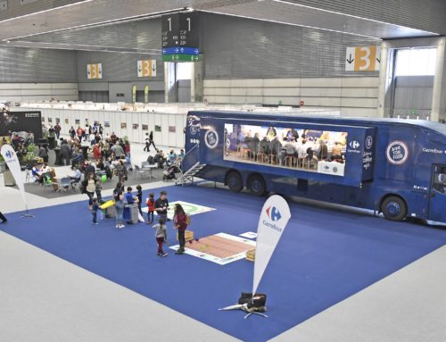 ACTIONS POUR MIEUX MANGER DE CARREFOUR, PRÉSENTÉ À LA FOIRE GASTRONOMIQUE GUSTOKO 2020