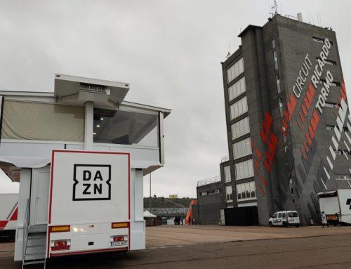 DAZN en Valencia para retransmitir la recta final del Campeonato del Mundo MOTOGP