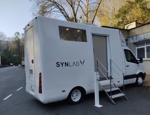 Unidad médica móvil de Synlab